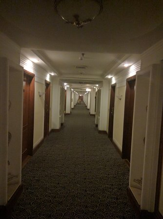 The Bristol Hotel: galley