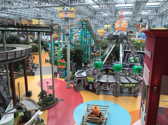 Nickelodeon Universe at the Mall of America Picture of Nickelodeon