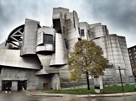 an observation of the artworks at the weisman art museum 24 × 16 ft weisman art museum,  of artworks ranging  clement greenberg and the museum of modern art curator alfred barr jr as a.