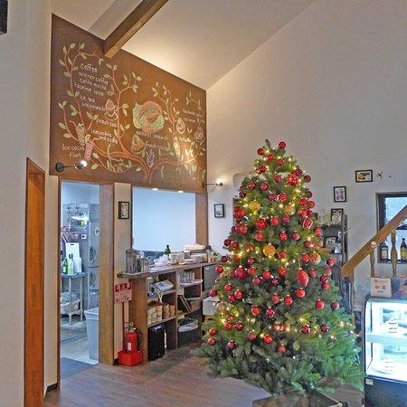 Wakasa-cho, Japón: 壁画?とツリー
