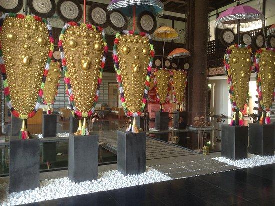 Vasundhara Sarovar Premiere: 'Nettipattam'. The ceremonial headgear of the elephants.