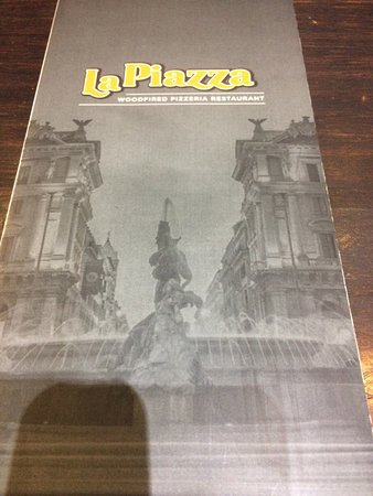 ‪‪La Piazza‬: Menu Cover‬