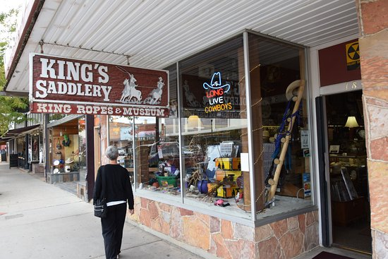King's Saddlery and Museum: The shop/museum