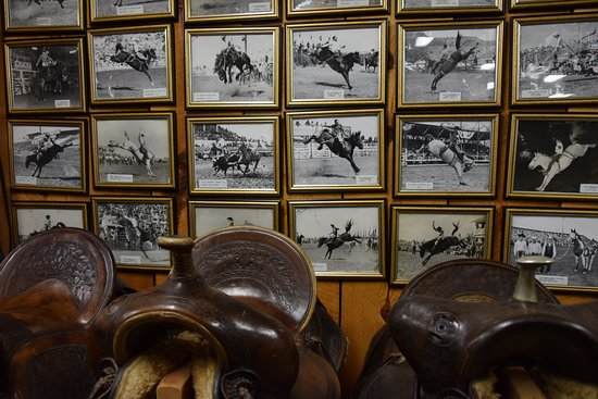 King's Saddlery and Museum: old pictures of rodeo's