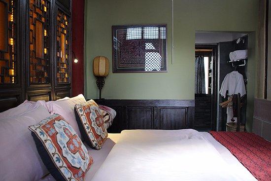 Old Theatre Inn: Chambre double, salle de bain privative