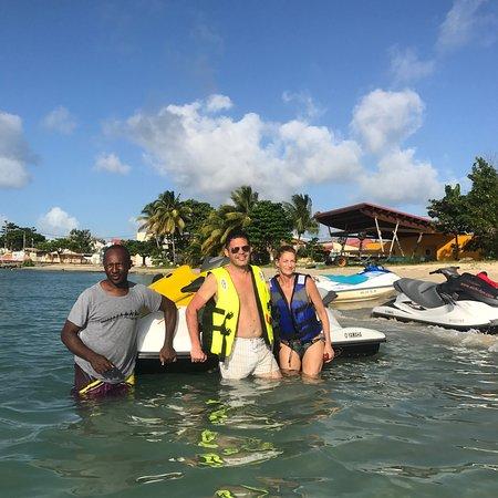 Saint Louis, Guadeloupe: Randonnée jet