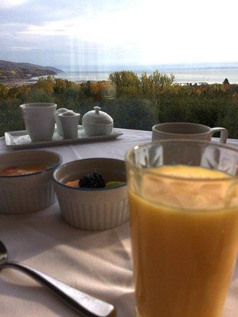 Auberge des Falaises: Déjeuner (buffet + plats à la carte)