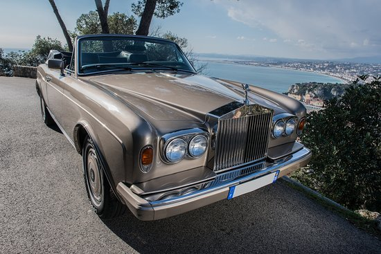 drive a rolls royce corniche on the corniches. Black Bedroom Furniture Sets. Home Design Ideas