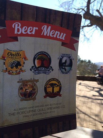 Hillcrest, South Africa: Porcupine Quills Craft Beer