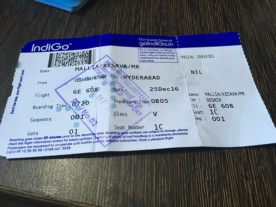 Boaring Pass Picture Of Indigo World Tripadvisor