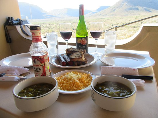 karoo national park there is a gift shop with food items for purchase or you