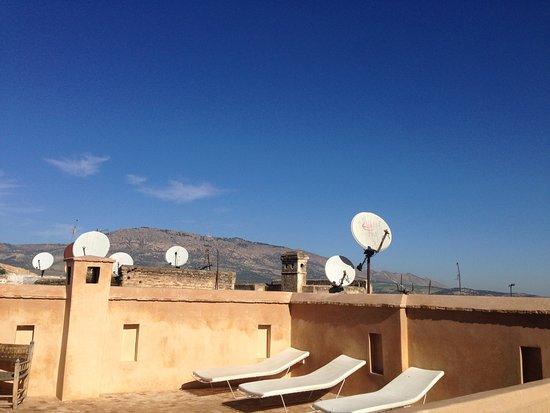 Hotel & Spa Riad Dar Bensouda: terrasse