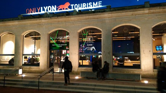 office de tourisme lyon perrache