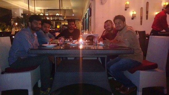 Zafraan Exotica Restaurant: With friends