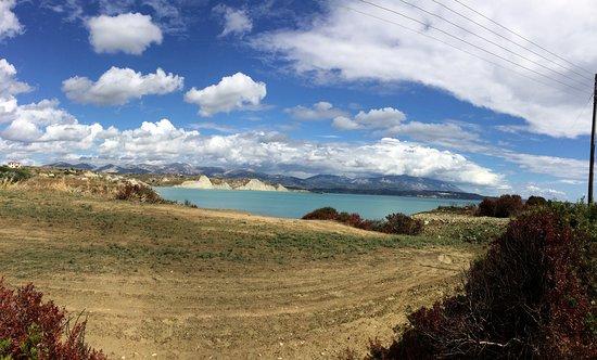 Kounopetra, กรีซ: Widoki w drodze na plaże