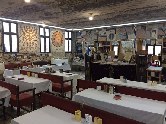 Acre, Izrael: Synagogue teaching room