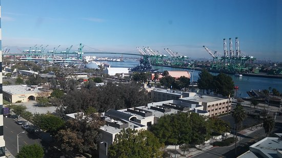 Crowne Plaza Los Angeles Harbor Hotel: The Harbor from the 10th floor.