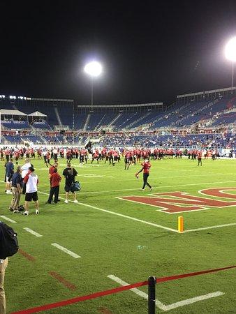 FAU Stadium : Pregame warmups