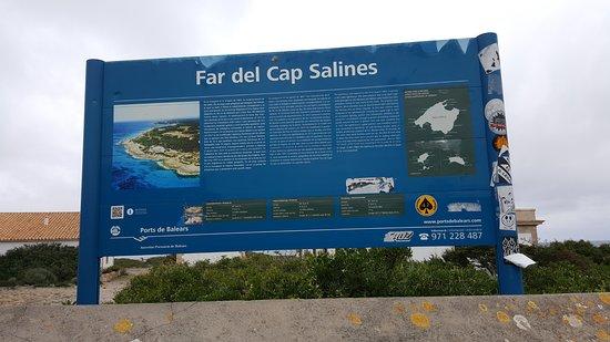 Ses Salines, Spain: Far del Cap Salines