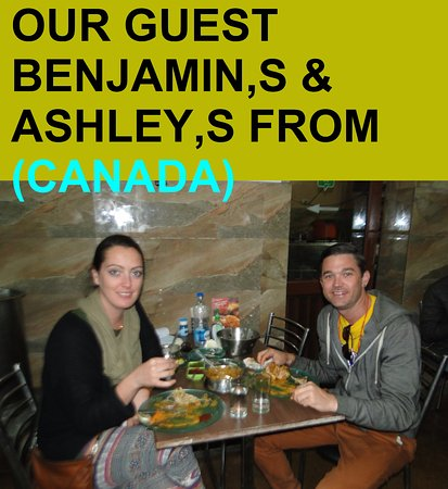 OUR GUEST FROM (CANADA)