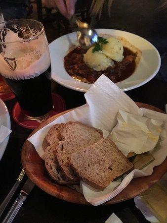 The Brazen Head: Beef & Guinness Stew & fresh bread