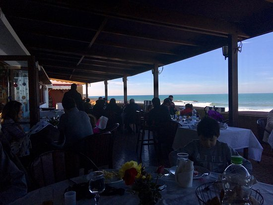 Great Seafood with Surfing Views