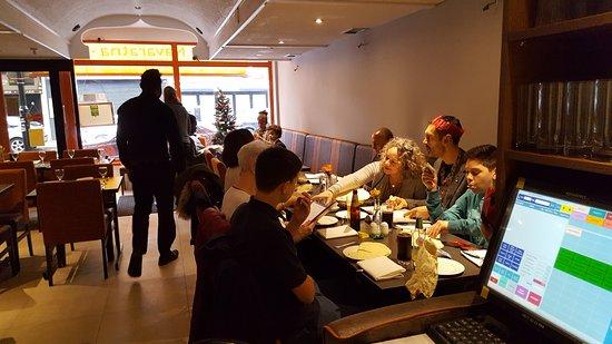 Navaratna: Christmas day. Lunch