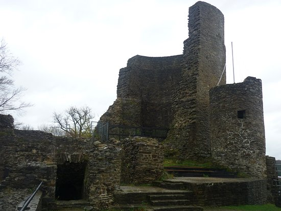 what is left of Castle Windeck