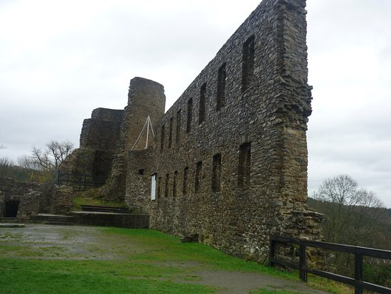 Castle Windeck in winter