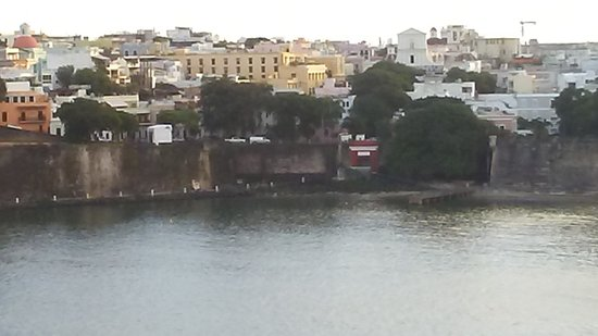 Puerta de San Juan: view from ship of gate