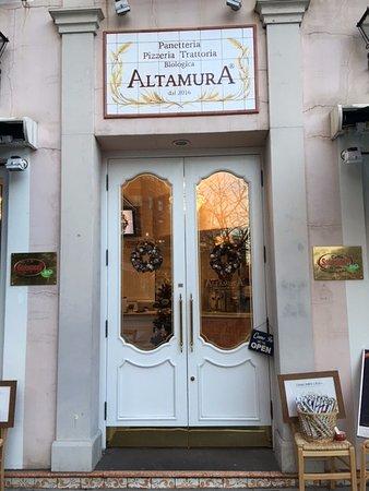 Altamura: Eatery  front