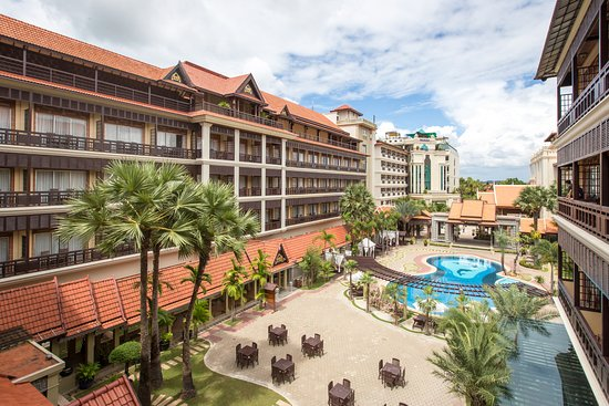Empress Angkor Resort & Spa: Hotel Back View