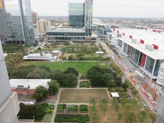 Hilton Americas - Houston: View from 19th floor