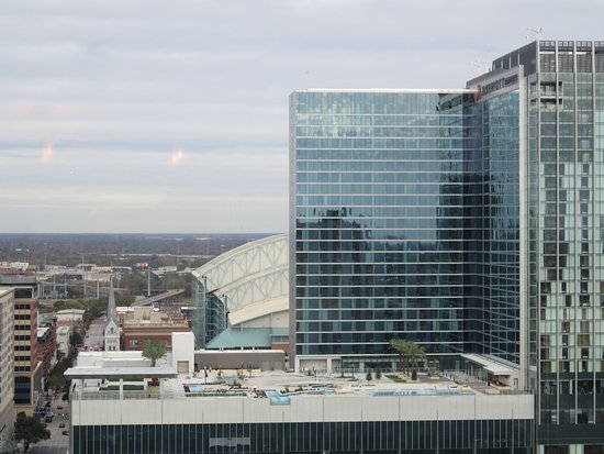 Hilton Americas - Houston: View of the new Marriott