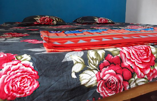 Raju Guest House: Clean and nice bed room