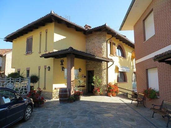 Sinio, Italien: Zufahrt