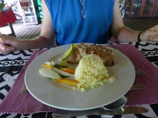 Porto Alegre, Santo Tomé y Príncipe: Good food