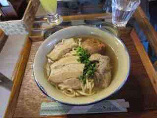 Janatei house special soba (three kinds of pork)