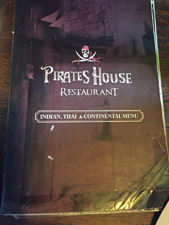 Menu Picture Of The Pirate House Restaurant Ko Phi Phi Don