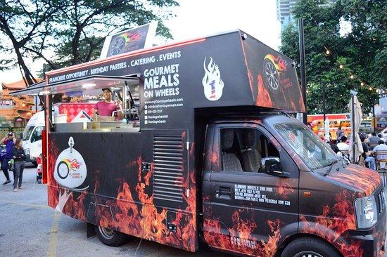 Food Trucks And Street Food By Angela Carson