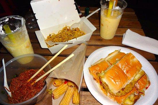 food trucks street food in kuala lumpur tapak tapak urban street dining kuala lumpur traveller reviews tripadvisor