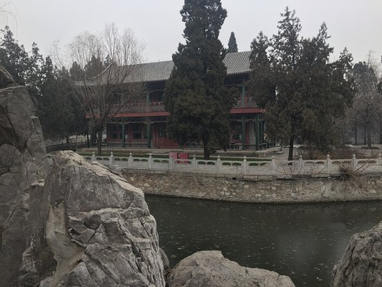 Baoding, China: Ancient Lotus Garden