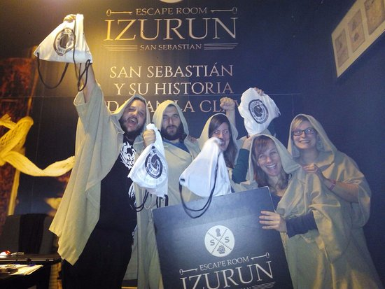 Izurun Escape Room San Sebastián