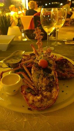Sunset Cafe : Grilled lobster