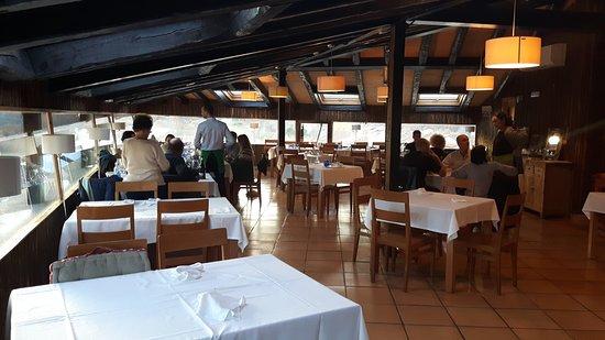 Garganta de los Montes, Spain: restaurante