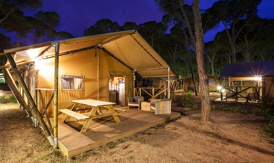 Camping Sandaya Cypsela Resort: Lodge
