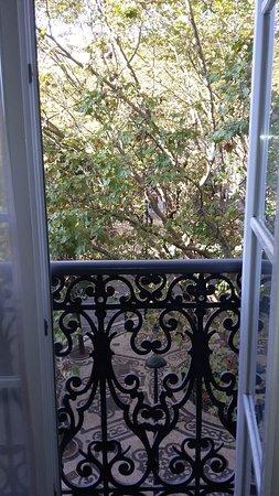Heritage Avenida Liberdade: Uma das janelas/balcões do quarto