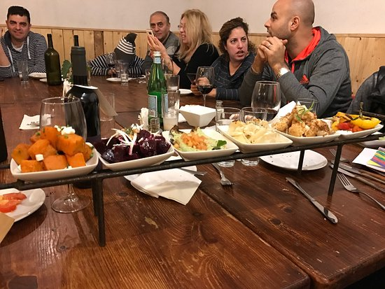 Tzel Tamar: Amazing vegetable antipasti