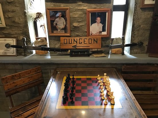 Loveland, OH: Inside The Castle... Chess Anyone?