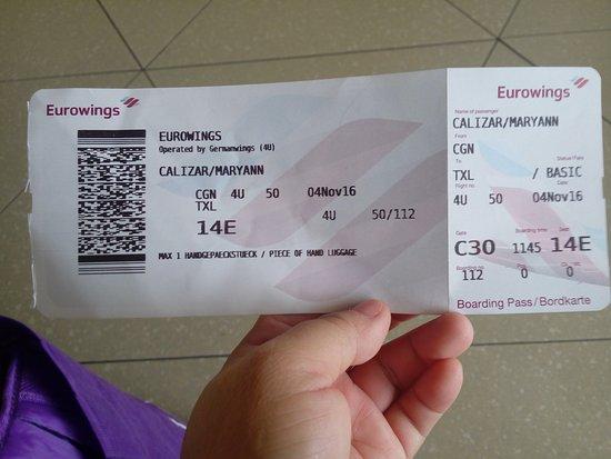 eurowings ticket